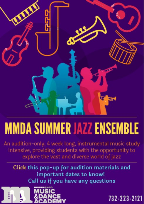 MMDA Summer Jazz Ensemble